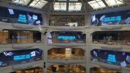 Primark Madrid Digital Signage | Technomedia