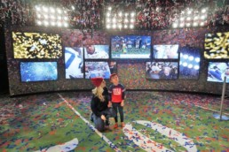 NFL Experience Times Square | Technomedia