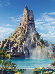 Volcano Bay Thea Award recipient - Technomedia provides audio integration